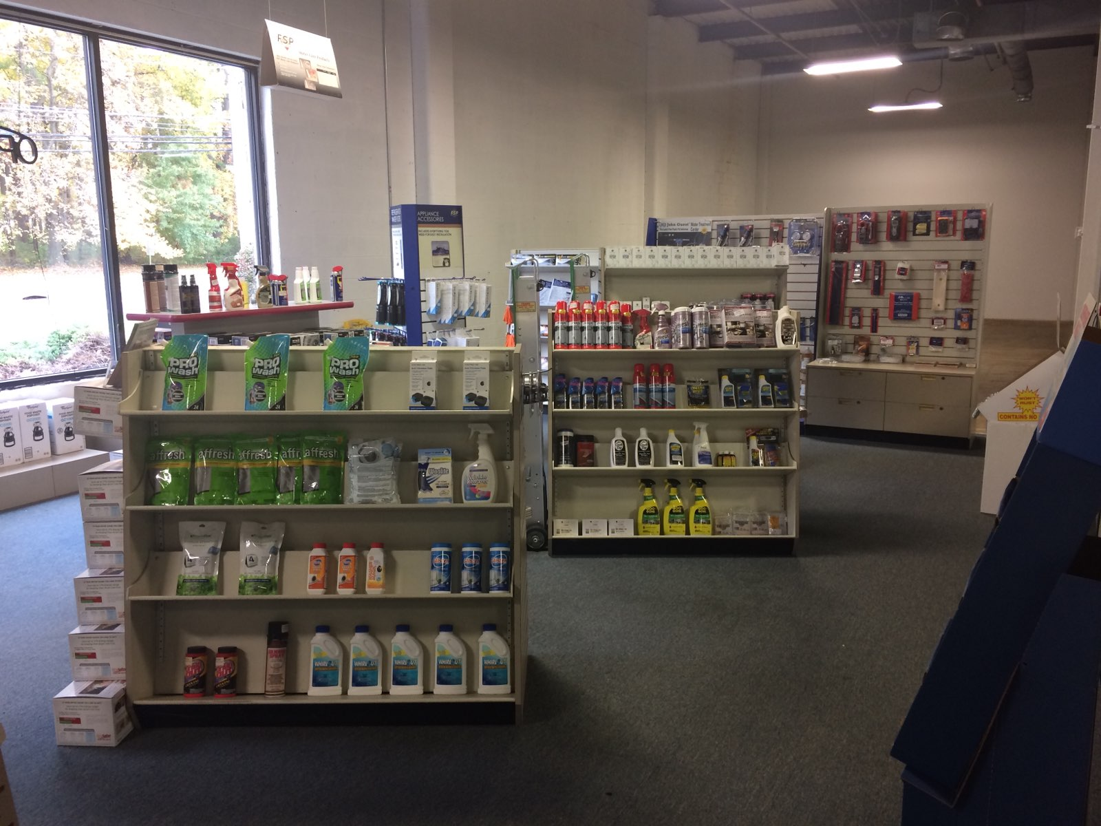 A picture of the Cherry Hill, NJ counter area.