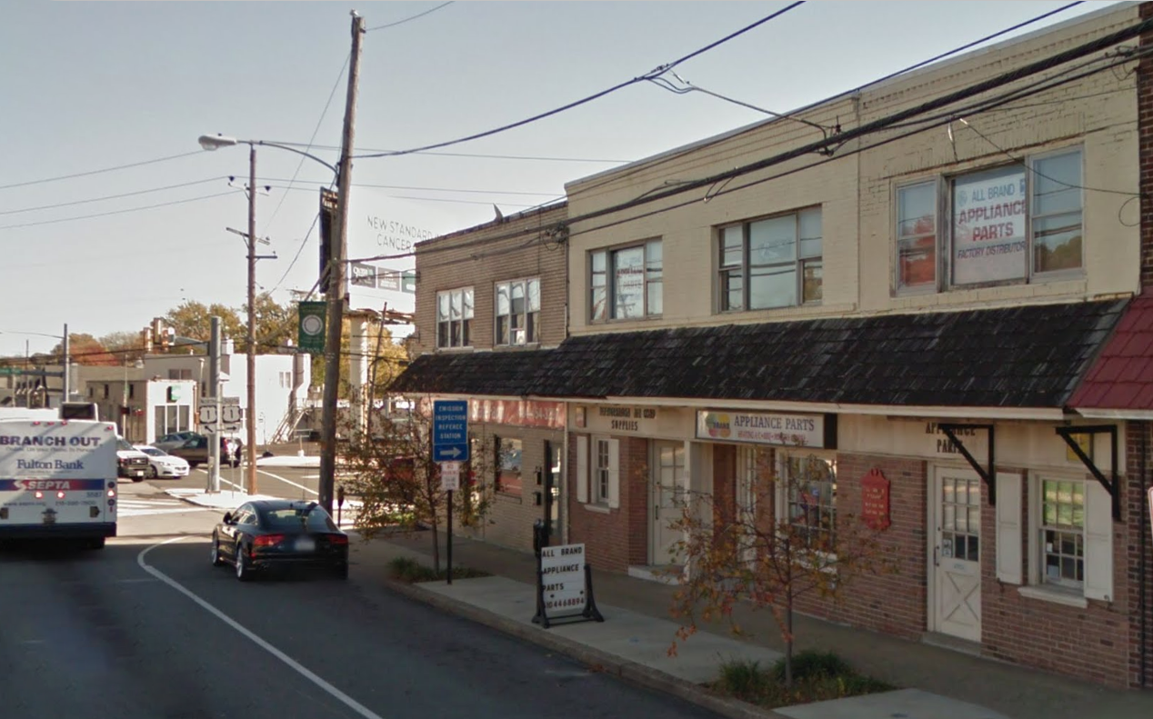 A picture of the Havertown, PA location.