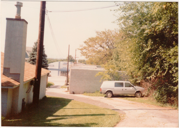 A picture of the Norristown, PA warehouse in 1989.