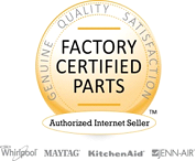 Whirlpool Factory Certified Parts